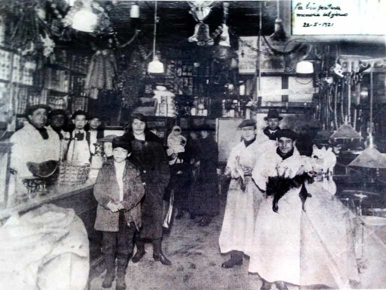 1921 -Store on Mulberry St